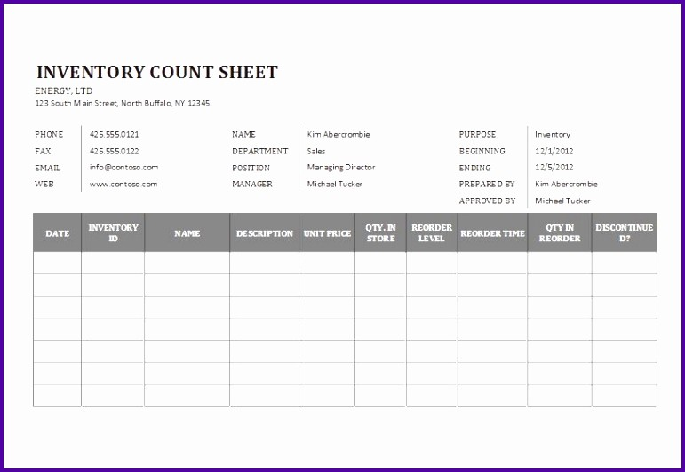 Physical Inventory Count Sheet Templates Beautiful 7 Inventory Count Sheet Template Tipstemplatess