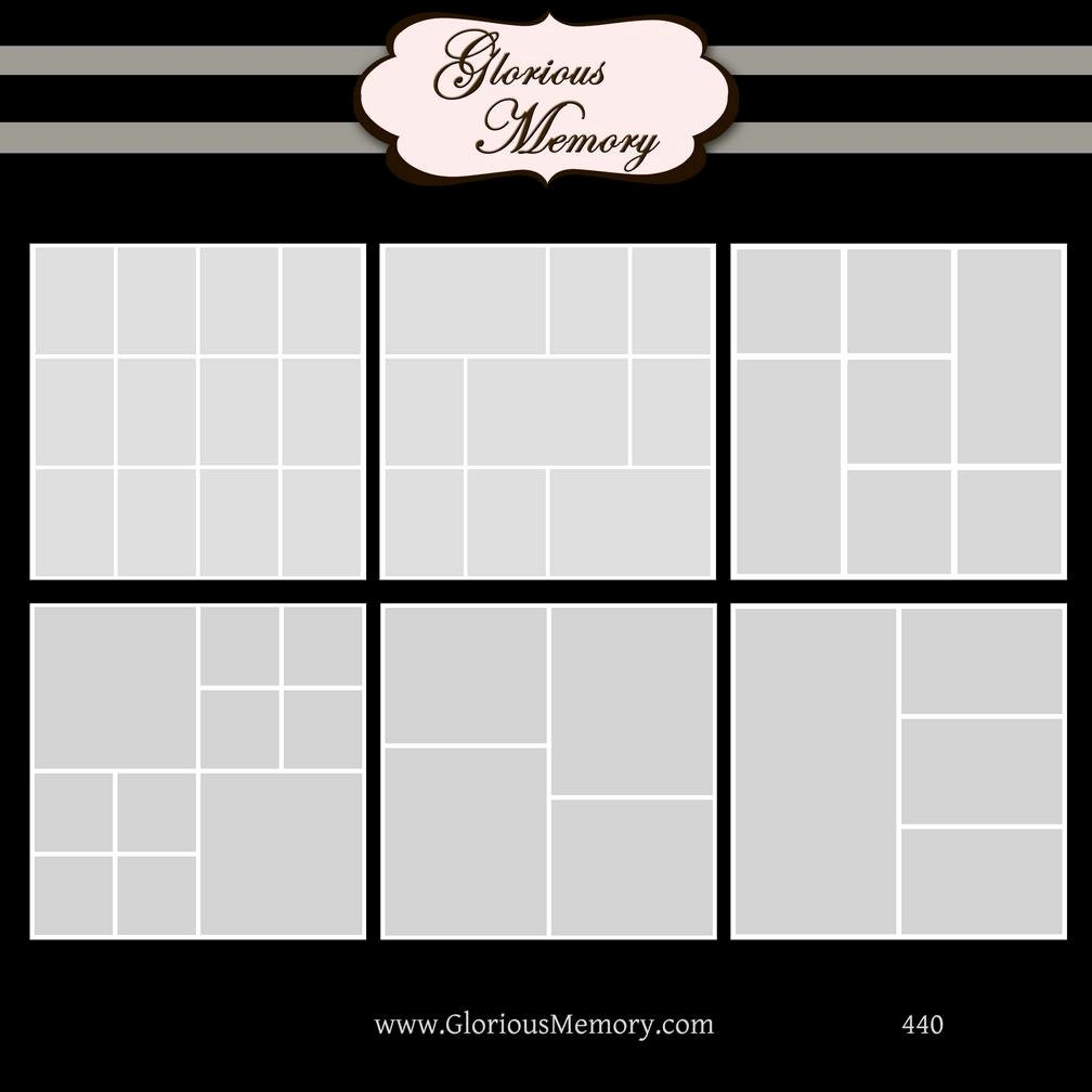 Picture Collage Template for Word Awesome Shop Collage Template