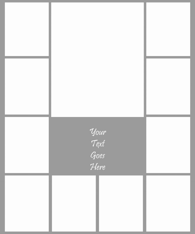 Picture Collage Template for Word Best Of Collage Template