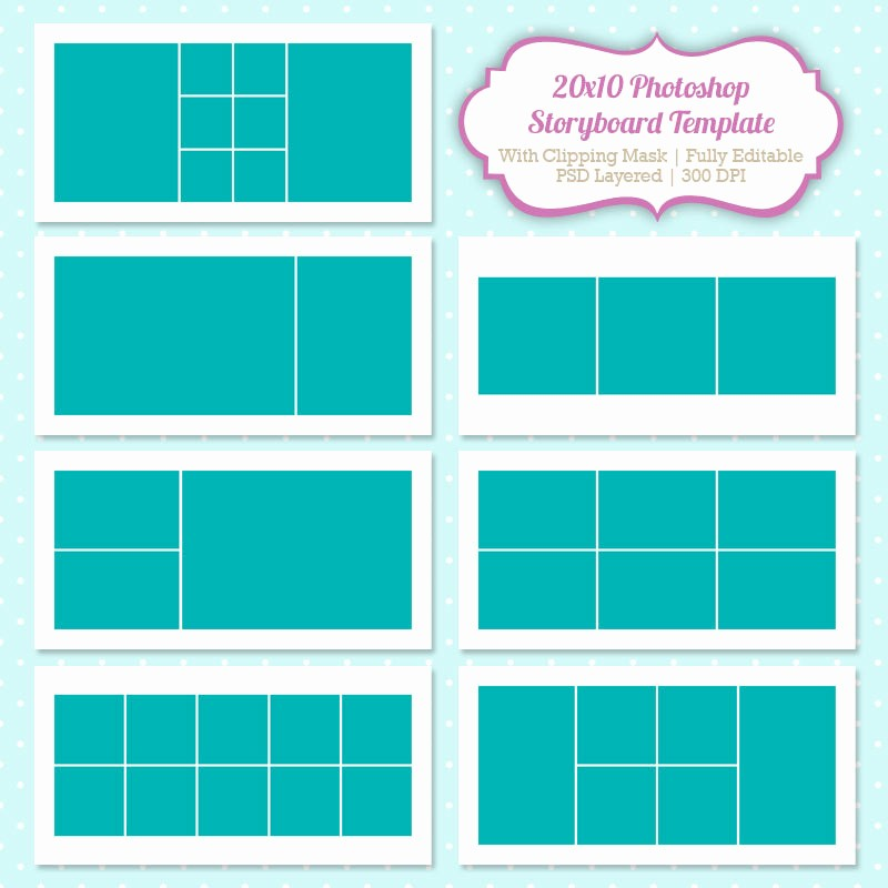 Picture Collage Template for Word Lovely Shop Collage Template