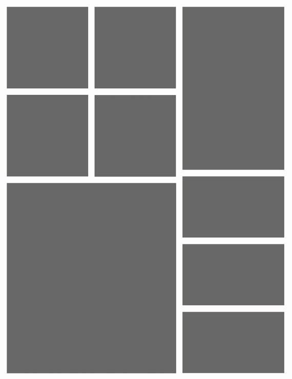 Picture Collage Template for Word New Shop Collage Template
