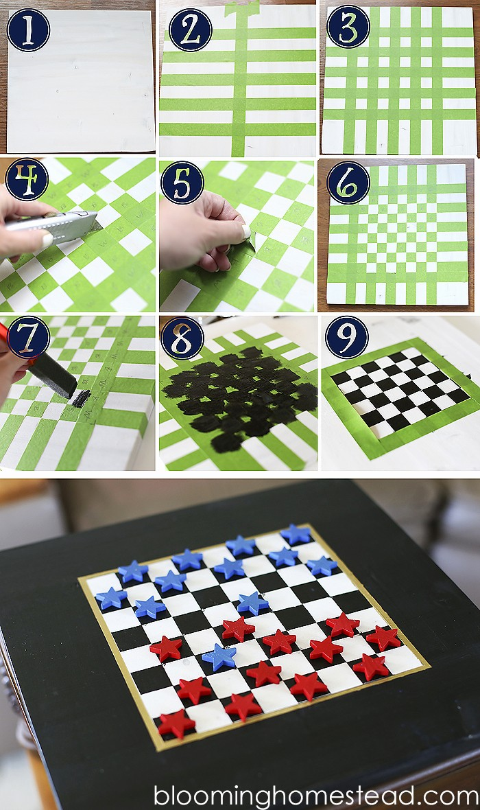 Pictures Of A Checker Board Best Of Diy Checkers Blooming Homestead