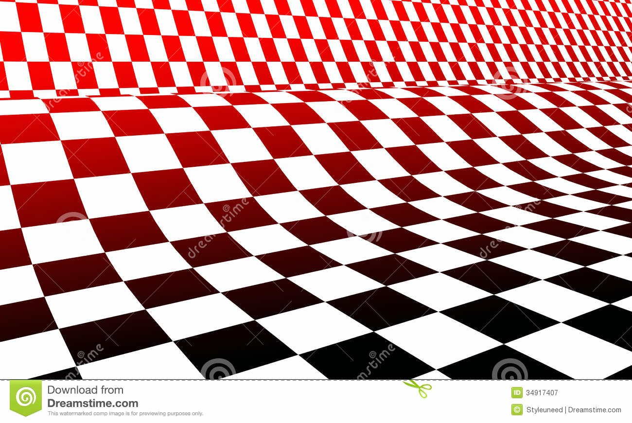 Pictures Of A Checker Board Inspirational Red White and Black Checkerboard Royalty Free Stock