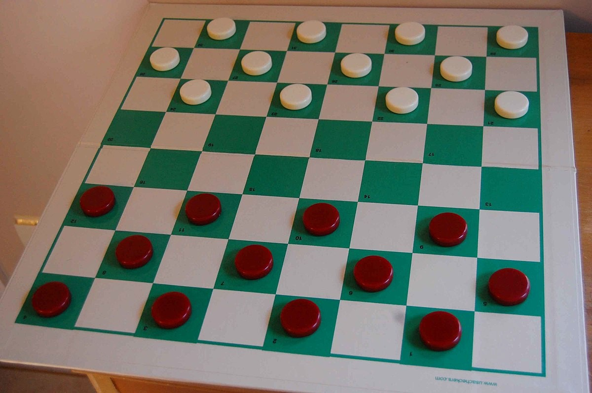 Pictures Of A Checker Board Luxury English Draughts
