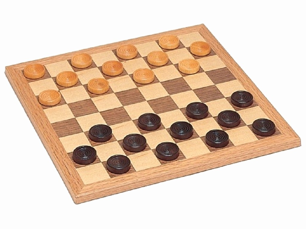 Pictures Of A Checker Board Luxury Walnut Checkers Set Miscellaneous Games Board Games