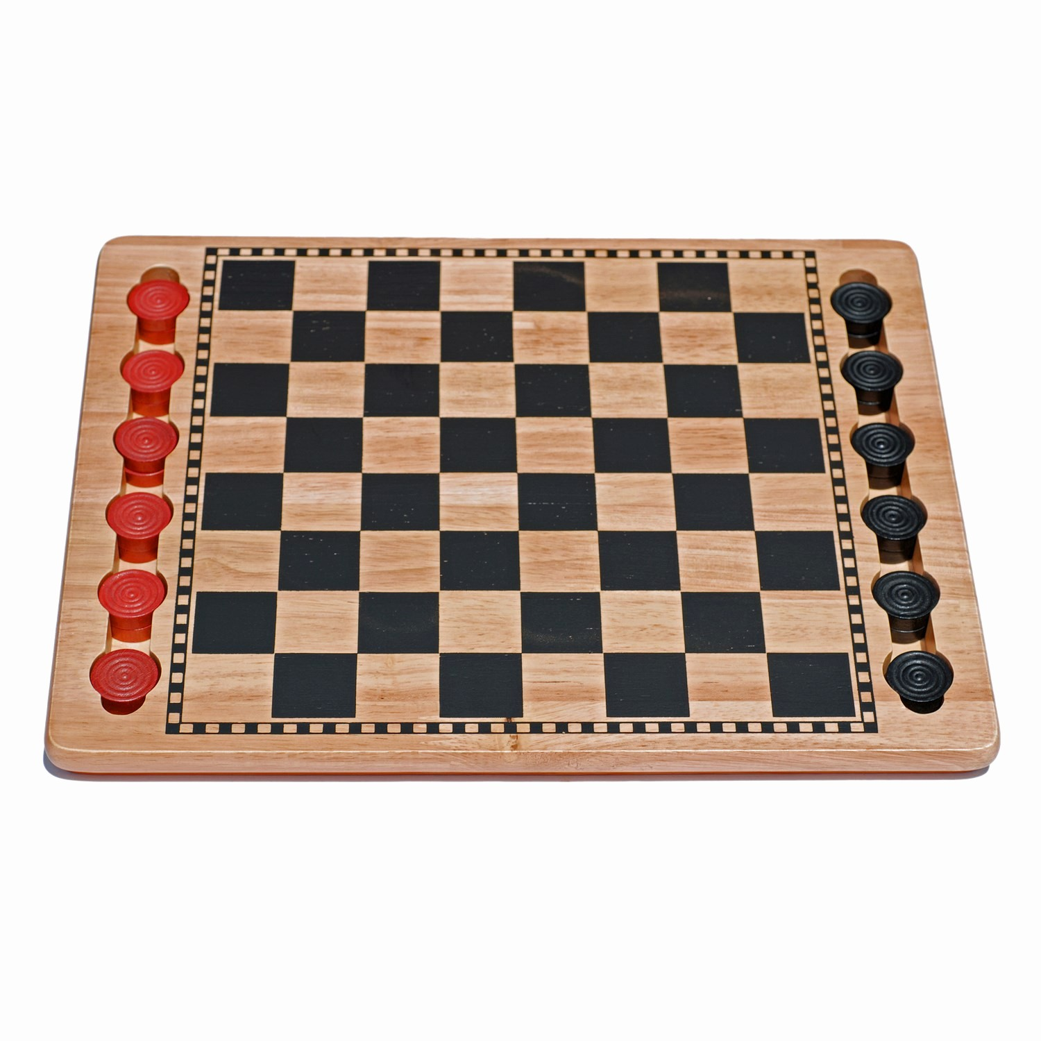 Pictures Of A Checker Board Luxury We Games solid Wood Checkers Set – Red & Black Traditional