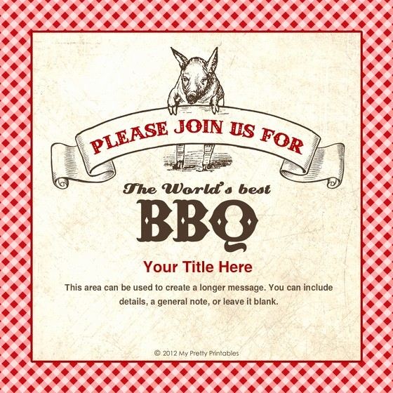 Pig Roast Invitation Template Free Awesome 28 Best Invites to Everything