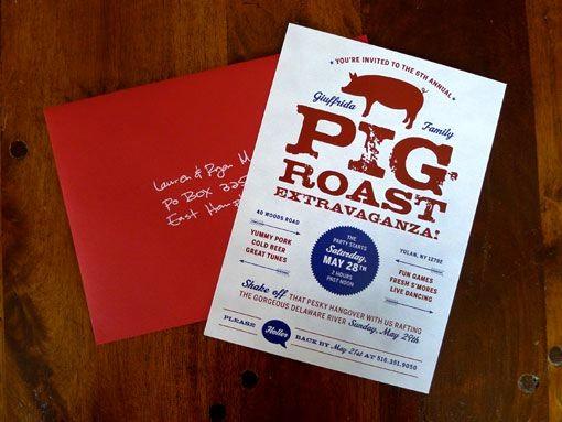 Pig Roast Invitation Template Free Elegant 32 Best Images About Pig Roast Invitations On Pinterest