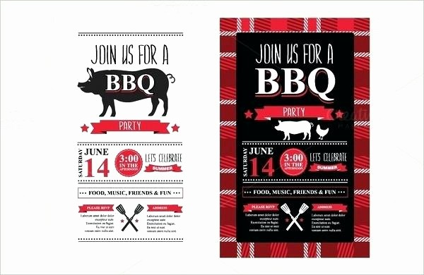Pig Roast Invitation Template Free New Flyer Templates Free Best Pig Roast Invitations