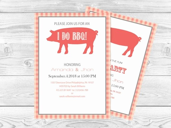 Pig Roast Invitation Template Free Unique Pig Roast Bbq Party Invitation Editable Pdf by Diyprintablesco