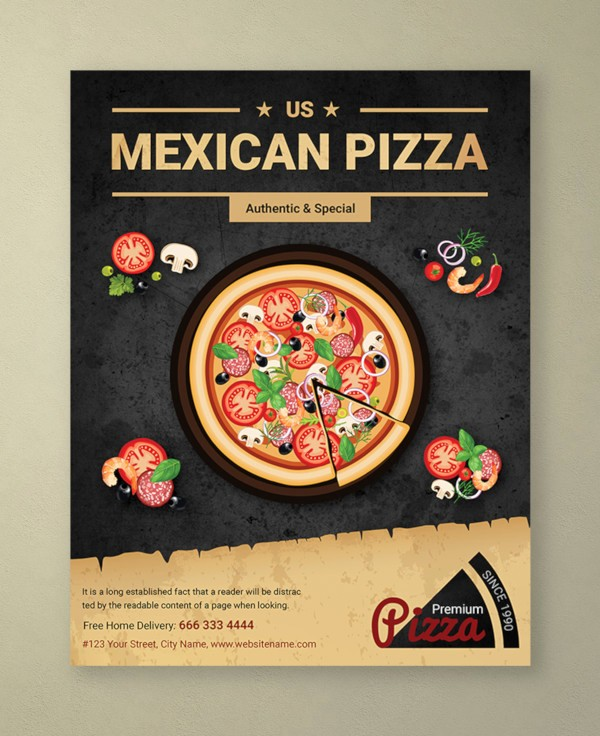 Pizza Party Flyer Template Free Beautiful 14 Pizza Party Flyer Template In Psd Word Publisher