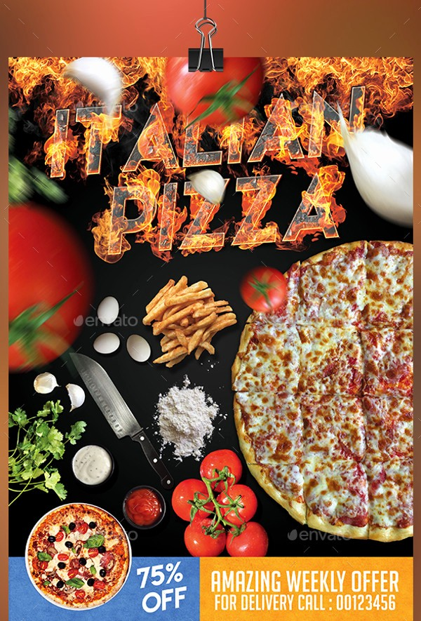 Pizza Party Flyer Template Free Best Of 22 Pizza Flyer Templates Psd Vector Eps Jpg Download