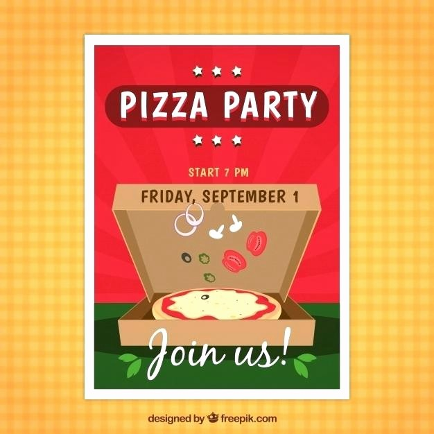 Pizza Party Flyer Template Free Elegant Pizza Party Flyer Templates Resident Referral