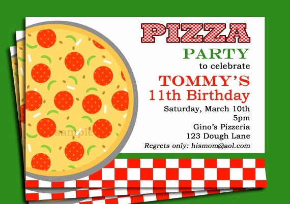 Pizza Party Flyer Template Free Elegant Resume 46 Unique Party Invitation Template Word Hi Res