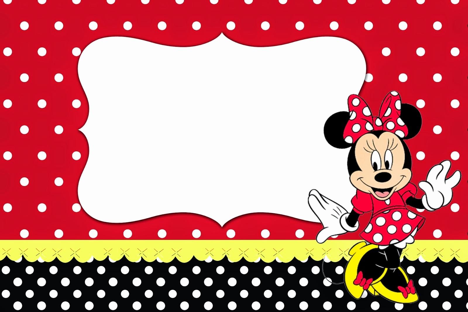 Plantillas De Cumpleaños Para Editar Awesome Ronycreativa Blog De Manualidades Fiesta De Minnie Mouse