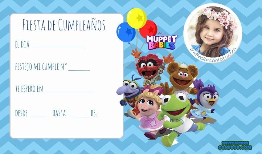 Plantillas De Cumpleaños Para Editar Lovely Invitaciones De Cumpleaños Infantiles Con Foto