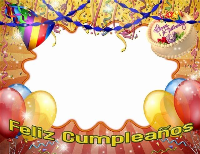 Plantillas De Cumpleaños Para Editar Unique Marcos De Fotos De Cumpleaños