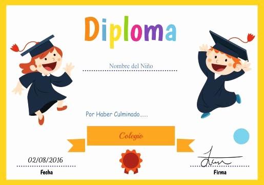 Plantillas De Diplomas Para Editar Beautiful Certificados Y Diplomas Para Editar E Imprimir Recursos