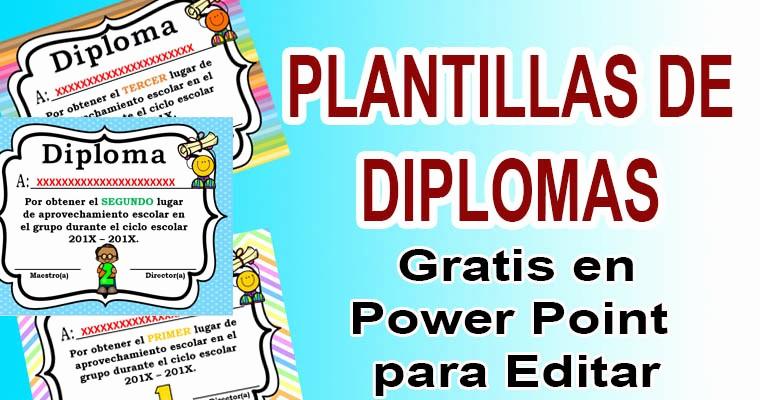 Plantillas De Diplomas Para Editar Inspirational Plantillas De Diplomas En Power Point Para Editar