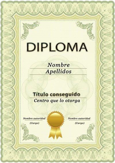 Plantillas De Diplomas Para Editar Lovely Más De 1000 Ideas sobre Plantilla Diploma En Pinterest