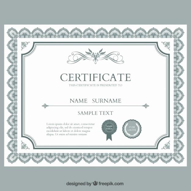 Plantillas De Diplomas Para Editar Lovely Modelo De Diploma Para Imprimir