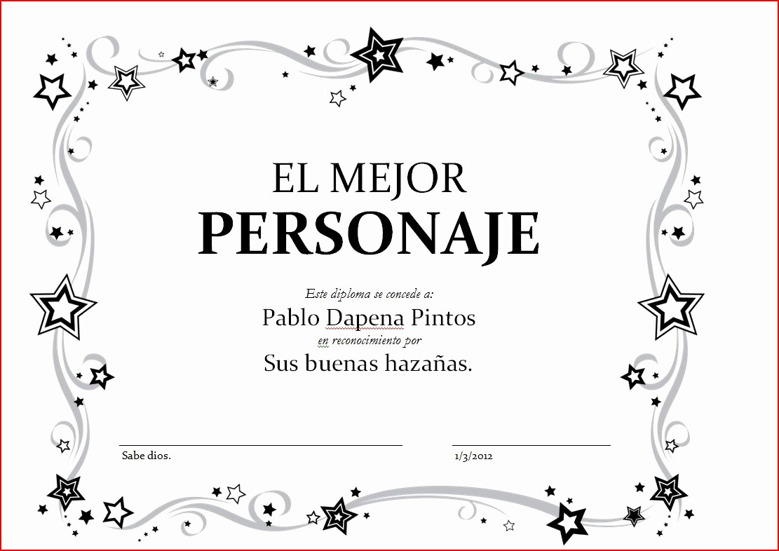 Plantillas De Diplomas Para Editar Lovely Plantillas De Diplomas En Word Imagui