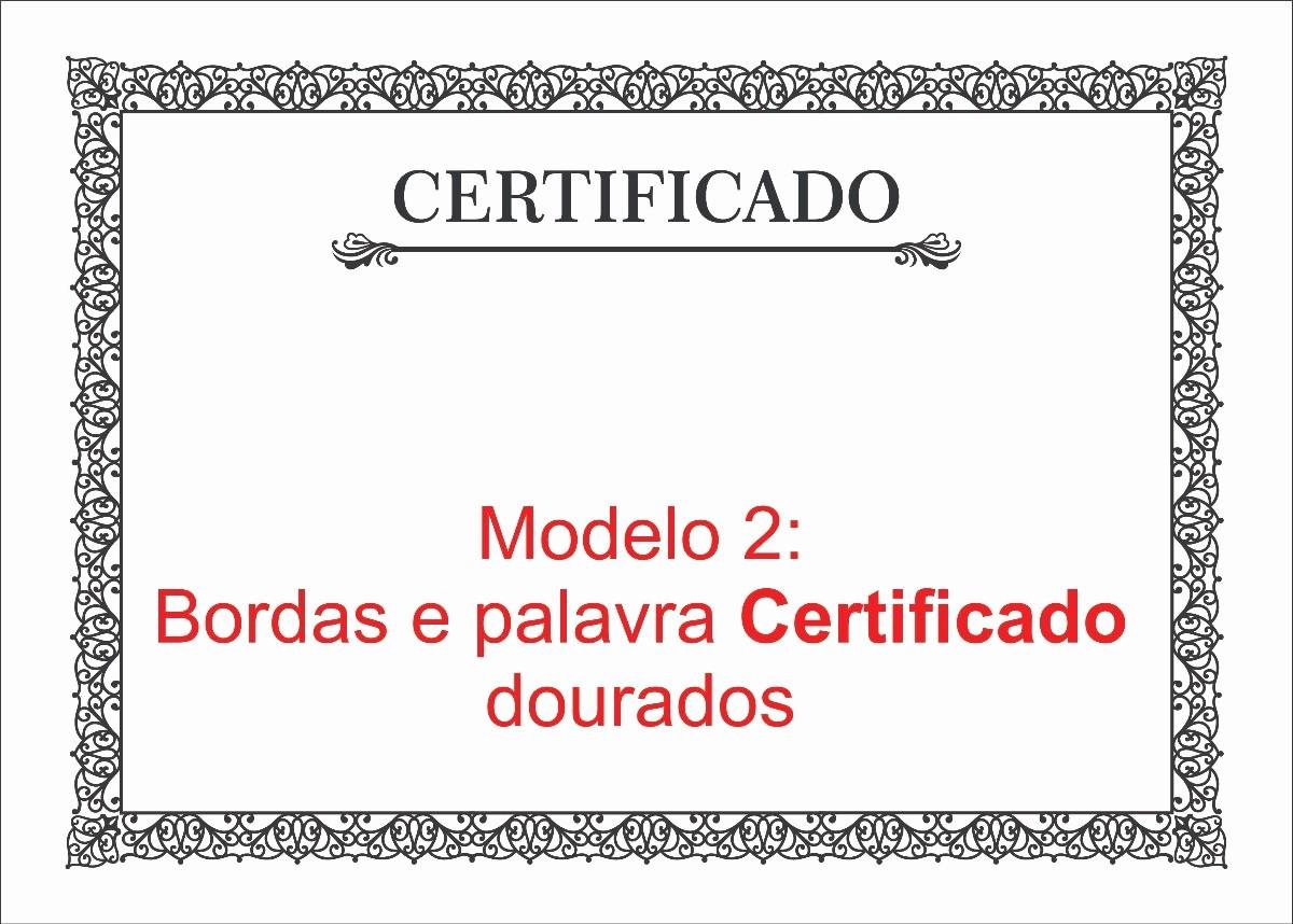 Plantillas De Diplomas Para Editar Luxury Certificado Diploma P Imprimir Bordas Dourado Kit 5