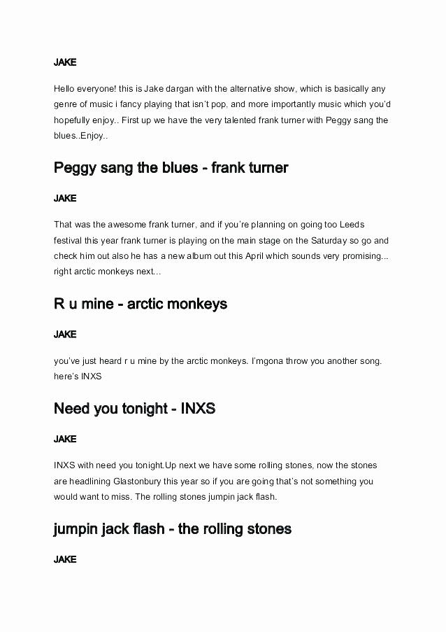 Play Script format In Word Beautiful Blank Play Script Template Skit Templates Writing Frame