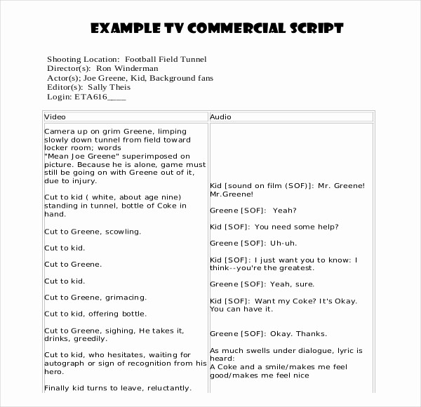 Play Script format In Word Beautiful Script Writing Template – 8 Free Word Pdf Documents