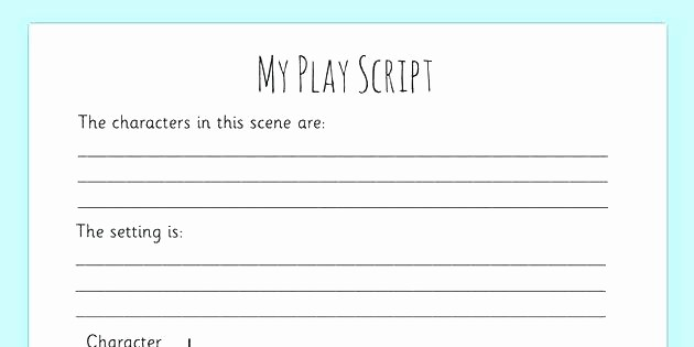 Play Script format In Word Best Of Script Writing Example Coursework Service Movie