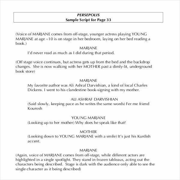 Play Script format In Word Fresh 11 Script Writing Templates Doc Pdf
