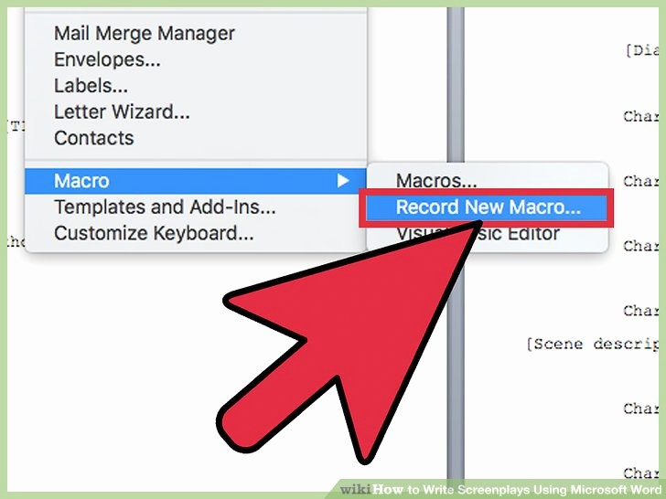 Play Script format In Word Lovely 5 Ways to Write Screenplays Using Microsoft Word Wikihow