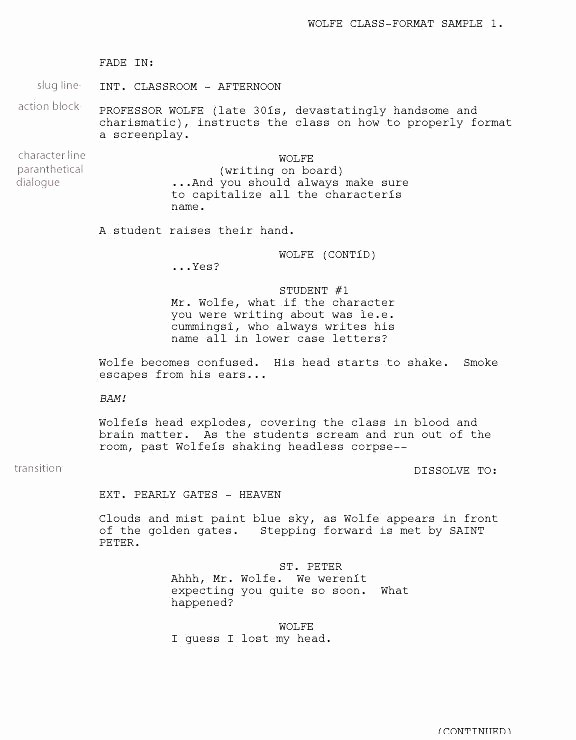 Play Script format In Word Unique Movie Script Template Writing for format Templates