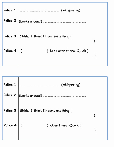 Play Script format In Word Unique Play Script Writing by Philsha Teaching Resources Tes