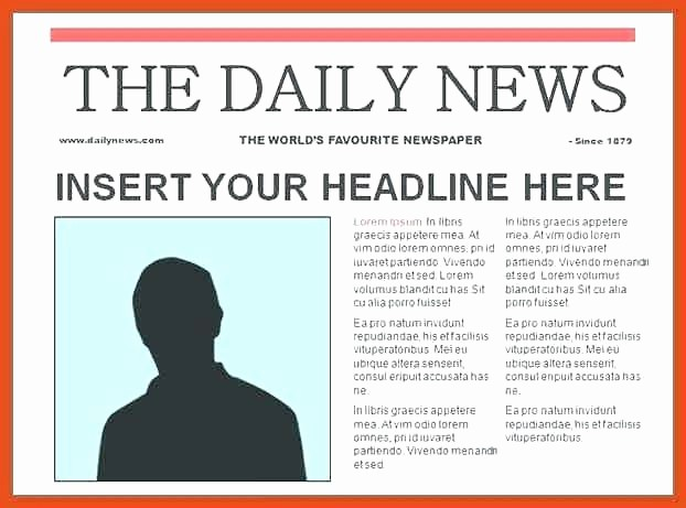 Pleading Paper Template Google Docs Luxury Newspaper Template On Word – Onairprojectfo