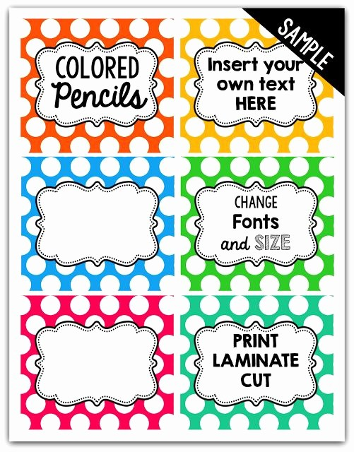 Polka Dot Template for Word Awesome Best 25 Polka Dot Labels Ideas On Pinterest