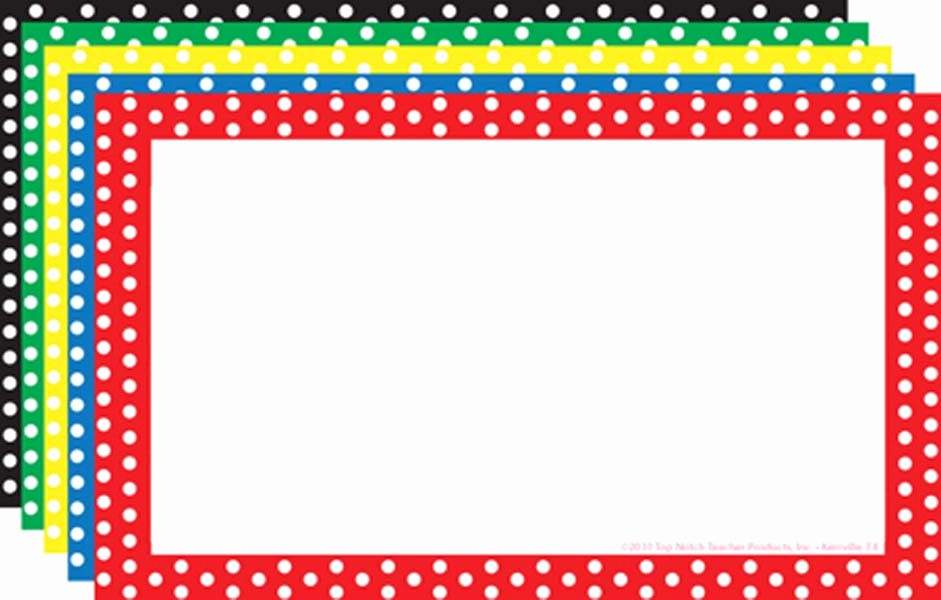 Polka Dot Template for Word Awesome Polka Dot Border Template Clipart Best