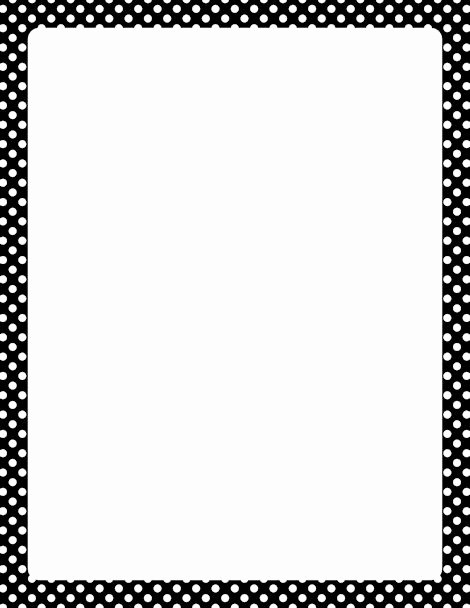 "Polka Dot Template for Word Awesome Search Results for ""polka Border Templates"" – Calendar 2015"