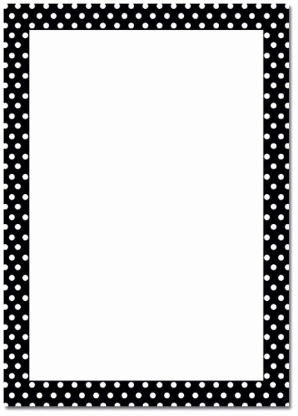 Polka Dot Template for Word Elegant 6 Best Of Polka Dot Template Printable Polka Dot