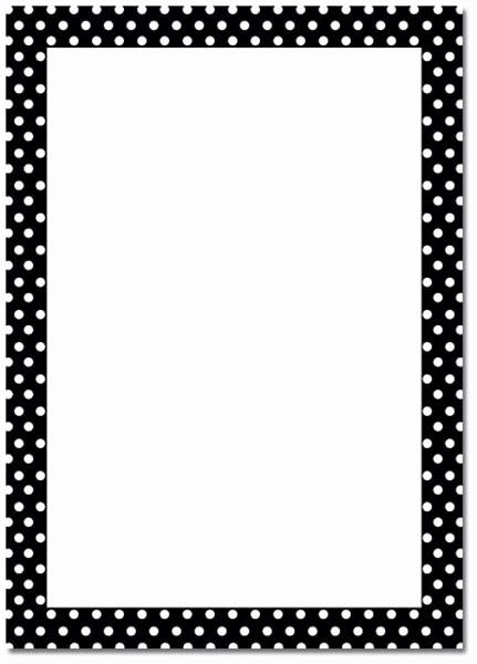 Polka Dot Template for Word Elegant 6 Best Of Polka Dot Template Printable Polka Dot