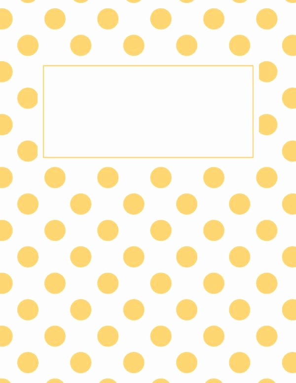 Polka Dot Template for Word Fresh 1000 Ideas About Binder Cover Templates On Pinterest