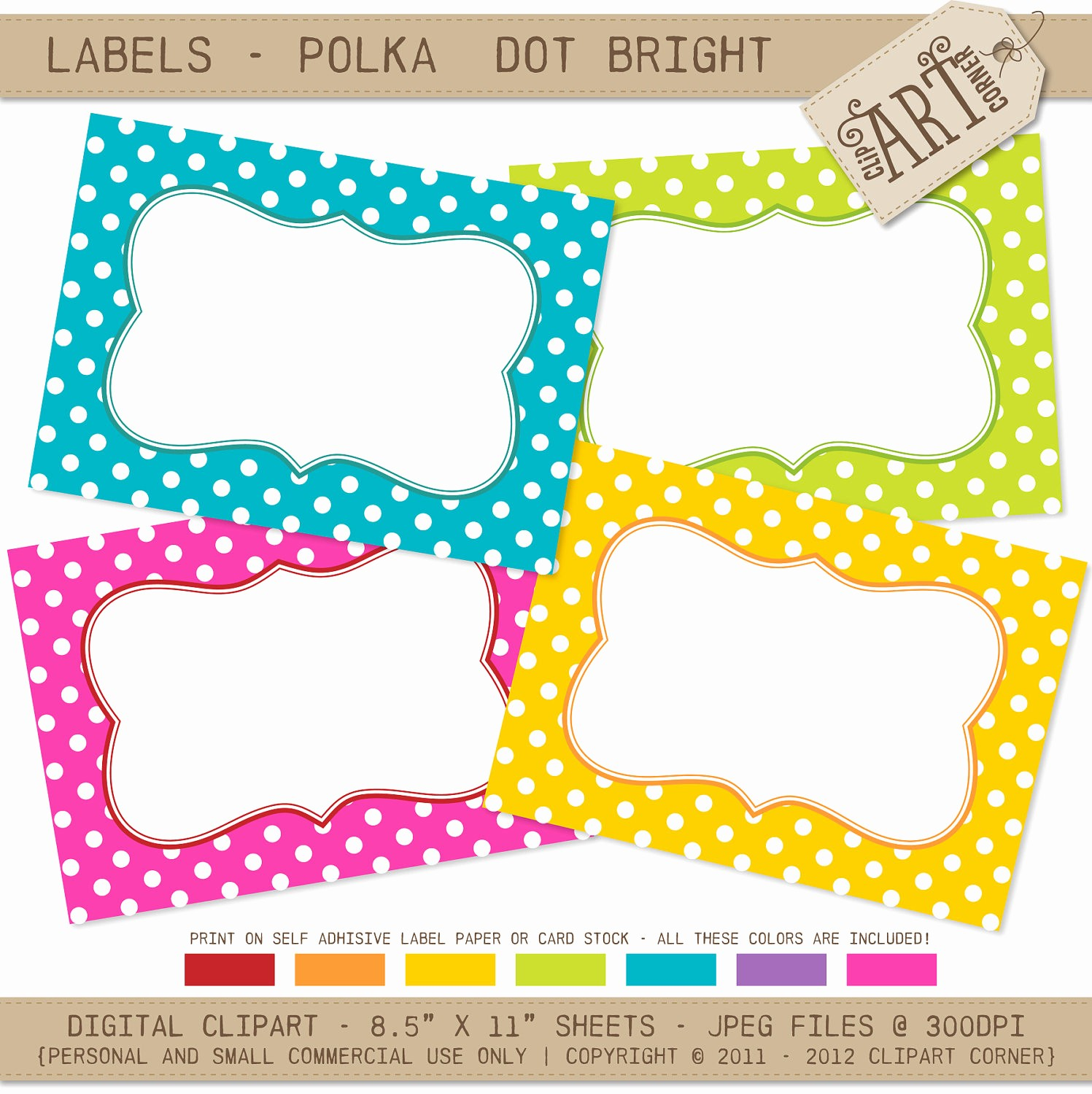 Polka Dot Template for Word Luxury 14 Best S Of Polka Dot Word Template Polka Dot