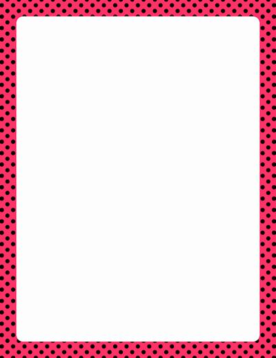 Polka Dot Template for Word New Resultados De La Búsqueda De Imágenes Polka Dot Border
