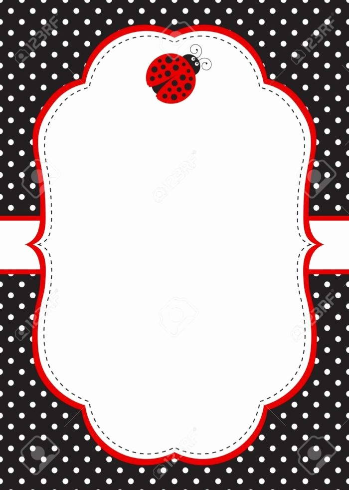 Polka Dot Template for Word Unique Diaper Raffle Template Black and White Templates