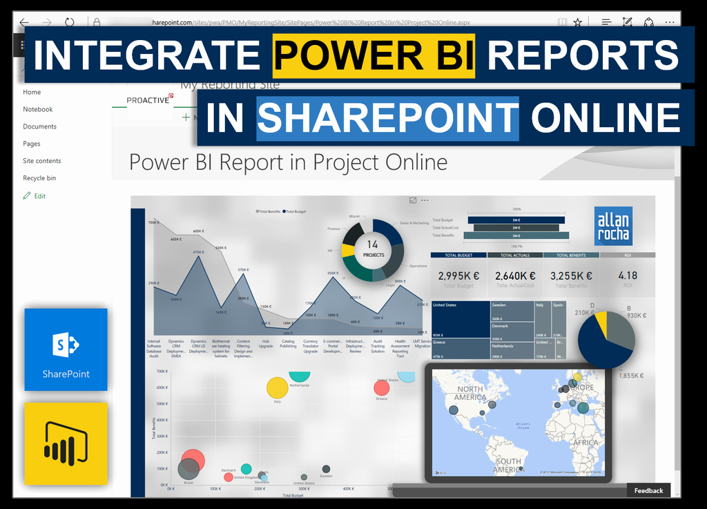 Portal-office-com Inspirational Integrate Power Bi Reports In Point Line – Ppm4all
