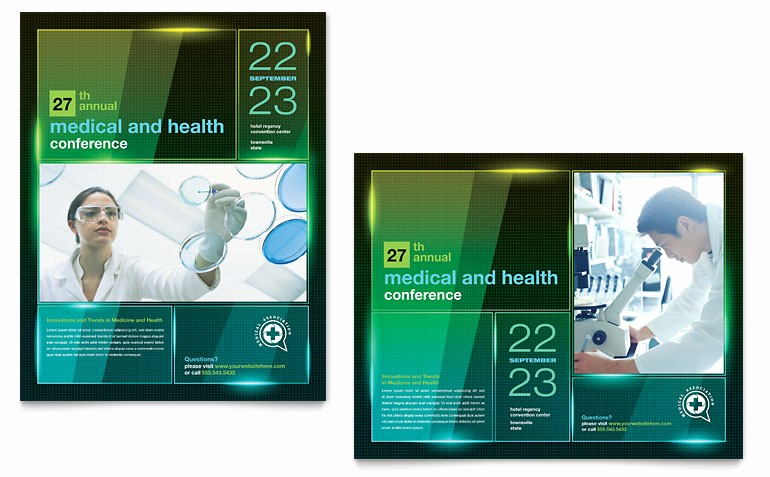 Poster Template Free Microsoft Word Best Of Medical Conference Poster Template Word & Publisher