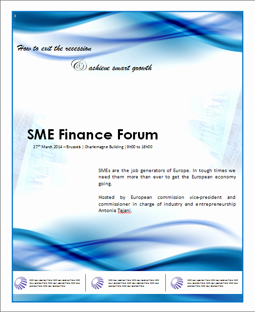 Poster Template Free Microsoft Word Inspirational Financial Poster Template for Banks Microsoft Word Templates