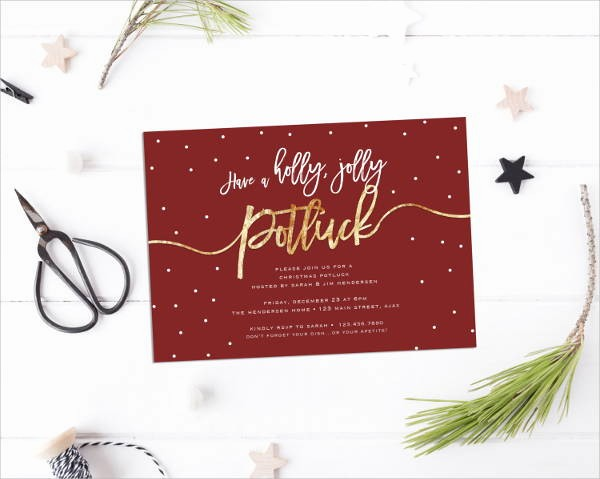 Potluck Invitation Template Free Printable Awesome 11 Potluck Invitations Psd Vector Eps