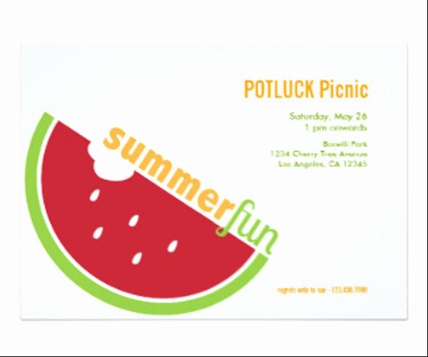 Potluck Invitation Template Free Printable Beautiful 11 Potluck Email Invitation Templates Psd Ai