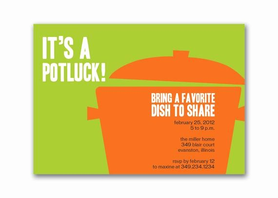 Potluck Invitation Template Free Printable Beautiful Unavailable Listing On Etsy